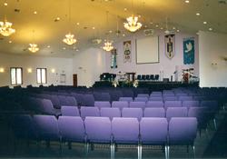 10000 sq ft church plans. Abundant Life Church exterior interior Floor Plans of custom churches designed and built with Barden