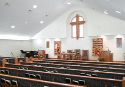 10000 sq ft church plans. Bethlehem Lutheran Church exterior interior Floor Plans of custom churches designed and built with Barden